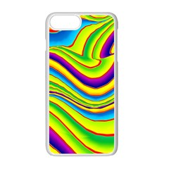 Summer Wave Colors Apple Iphone 7 Plus White Seamless Case