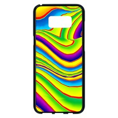 Summer Wave Colors Samsung Galaxy S8 Plus Black Seamless Case