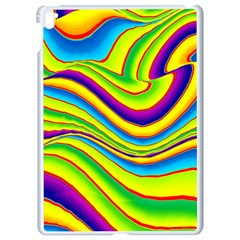 Summer Wave Colors Apple Ipad Pro 9 7   White Seamless Case