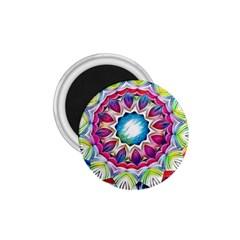 Sunshine Feeling Mandala 1 75  Magnets
