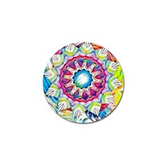 Sunshine Feeling Mandala Golf Ball Marker (10 Pack)