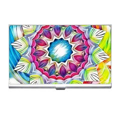 Sunshine Feeling Mandala Business Card Holders