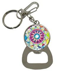 Sunshine Feeling Mandala Button Necklaces