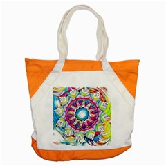 Sunshine Feeling Mandala Accent Tote Bag