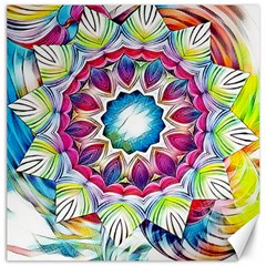 Sunshine Feeling Mandala Canvas 20  X 20