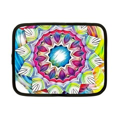 Sunshine Feeling Mandala Netbook Case (small)