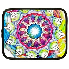 Sunshine Feeling Mandala Netbook Case (large)