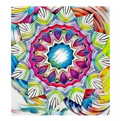 Sunshine Feeling Mandala Shower Curtain 66  X 72  (large)