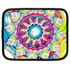Sunshine Feeling Mandala Netbook Case (xxl)