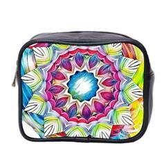 Sunshine Feeling Mandala Mini Toiletries Bag 2 Side