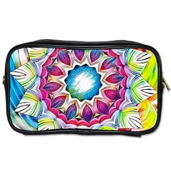 Sunshine Feeling Mandala Toiletries Bags 2 Side