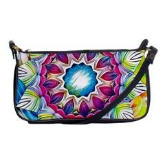 Sunshine Feeling Mandala Shoulder Clutch Bags