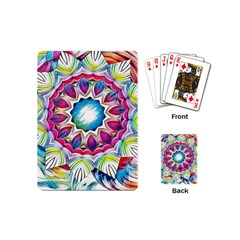 Sunshine Feeling Mandala Playing Cards (mini)
