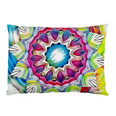 Sunshine Feeling Mandala Pillow Case (two Sides)