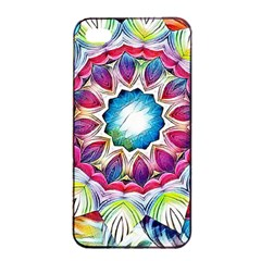 Sunshine Feeling Mandala Apple Iphone 4/4s Seamless Case (black)