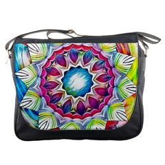 Sunshine Feeling Mandala Messenger Bags