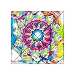Sunshine Feeling Mandala Acrylic Tangram Puzzle (4  X 4 )