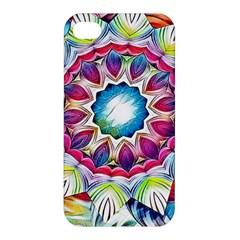 Sunshine Feeling Mandala Apple Iphone 4/4s Premium Hardshell Case