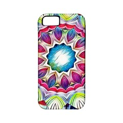 Sunshine Feeling Mandala Apple Iphone 5 Classic Hardshell Case (pc+silicone)