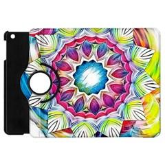 Sunshine Feeling Mandala Apple Ipad Mini Flip 360 Case