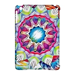 Sunshine Feeling Mandala Apple Ipad Mini Hardshell Case (compatible With Smart Cover)
