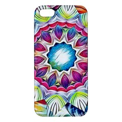 Sunshine Feeling Mandala Apple Iphone 5 Premium Hardshell Case