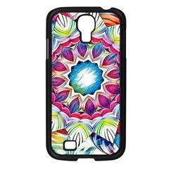 Sunshine Feeling Mandala Samsung Galaxy S4 I9500/ I9505 Case (black)