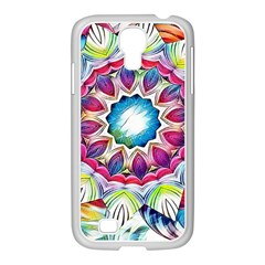 Sunshine Feeling Mandala Samsung Galaxy S4 I9500/ I9505 Case (white)