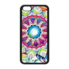 Sunshine Feeling Mandala Apple Iphone 5c Seamless Case (black)