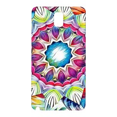 Sunshine Feeling Mandala Samsung Galaxy Note 3 N9005 Hardshell Back Case