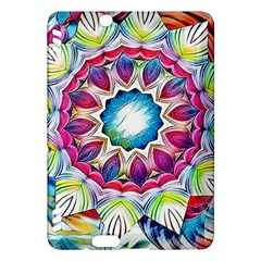 Sunshine Feeling Mandala Kindle Fire Hdx Hardshell Case