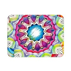 Sunshine Feeling Mandala Double Sided Flano Blanket (mini)