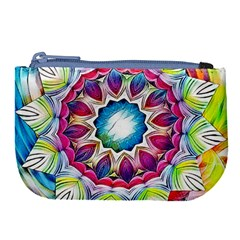 Sunshine Feeling Mandala Large Coin Purse
