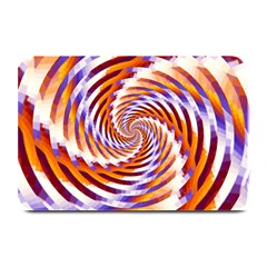 Woven Colorful Waves Plate Mats