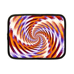 Woven Colorful Waves Netbook Case (small)