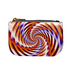 Woven Colorful Waves Mini Coin Purses
