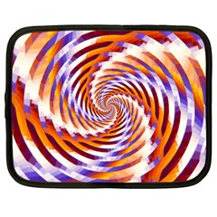 Woven Colorful Waves Netbook Case (xxl)