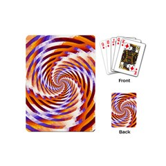 Woven Colorful Waves Playing Cards (mini)