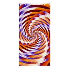 Woven Colorful Waves Shower Curtain 36  X 72  (stall)