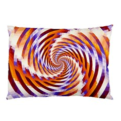 Woven Colorful Waves Pillow Case (two Sides)