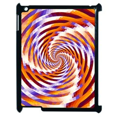Woven Colorful Waves Apple Ipad 2 Case (black)