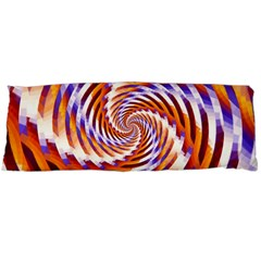 Woven Colorful Waves Body Pillow Case (dakimakura)