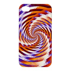 Woven Colorful Waves Apple Iphone 4/4s Premium Hardshell Case