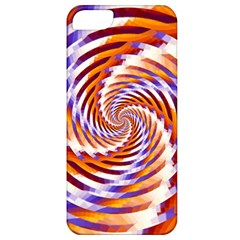 Woven Colorful Waves Apple Iphone 5 Classic Hardshell Case