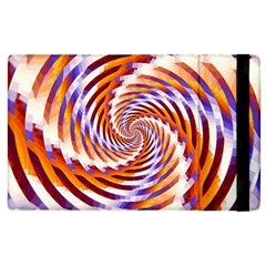 Woven Colorful Waves Apple Ipad 3/4 Flip Case