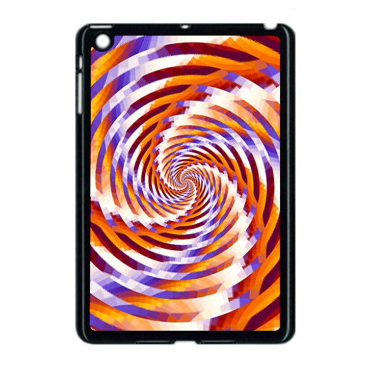 Woven Colorful Waves Apple iPad Mini Case (Black)