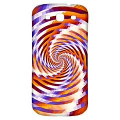 Woven Colorful Waves Samsung Galaxy S3 S Iii Classic Hardshell Back Case
