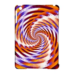 Woven Colorful Waves Apple Ipad Mini Hardshell Case (compatible With Smart Cover)