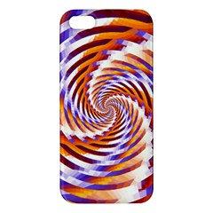 Woven Colorful Waves Apple Iphone 5 Premium Hardshell Case