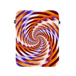 Woven Colorful Waves Apple iPad 2/3/4 Protective Soft Cases Front
